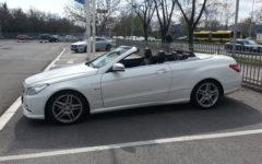 Mercedes E class 350d Cabrio AMG Aut Dizel